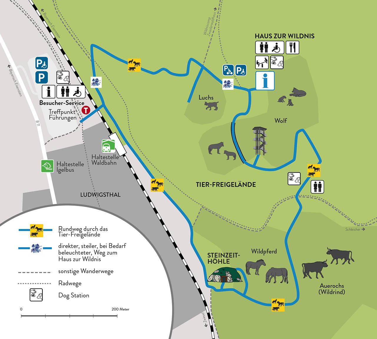 Nationalpark Bayerischer Wald Karte.Nationalparkzentrum Falkenstein Im Nationalpark Bayerischer Wald