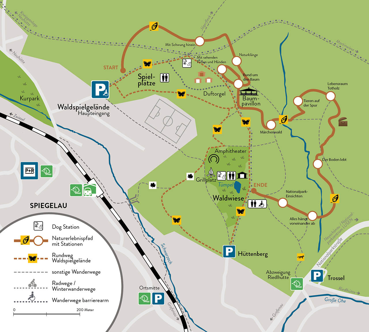 Nationalpark Bayerischer Wald Karte.Waldspielgelände Spiegelau Im Nationalpark Bayerischer Wald