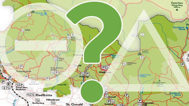 Nationalpark Bayerischer Wald Karte.Aktueller Wegezustand Im Nationalpark Bayerischer Wald